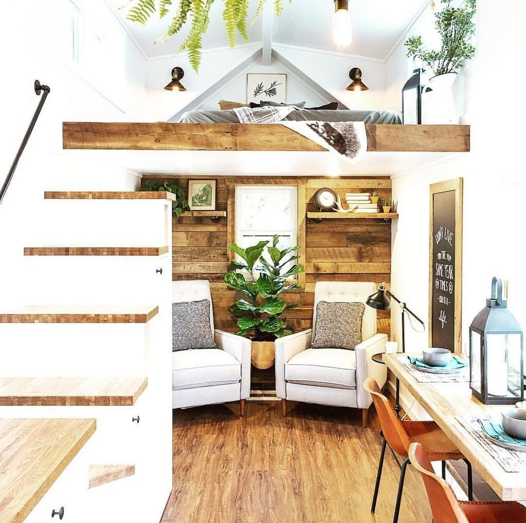 camperFascinating-Tiny-House-Interior-Decor-Ideas-Using-Plants-31